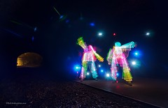 Tango in the Tunnel (BDMbeercan) Tags: lightpainting tunnel tokina1116mm nikond7000 bdmbeercan algebotcombat