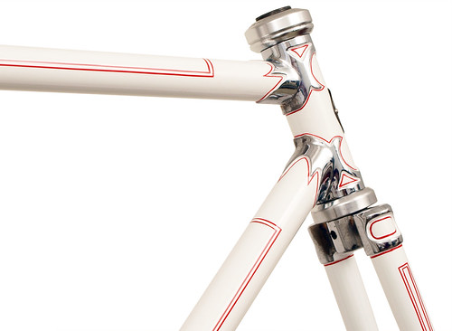 <p>Head Tube - Waterford restoration of a late 1950's Schwinn Paramount with Chrome Nervex Series Legere lugs.   62914</p>