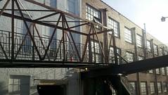 Warehouse real estate (smnorthrunner) Tags: bridge virginia ramp unitedstates warehouse lynchburg railcar