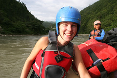 Happy Clients On the Karnali river Adventure rafting and kayaking trip