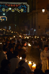 Saint Agatha Feast, Catania - Lights (ciccioetneo) Tags: santa italy history feast fire nikon candles italia nightshot faith folklore holy virgin flame devotion sicily tradition martyr fede catania sicilia fuoco devoto devoted ceri fiamma candele storia religione vergine martire devozione santagata tradizione nikon80200mmf28 festareligiosa saintagatha santuzza religiousfeast festadisantagata d7000 nikond7000 agathae ciccioetneo saintagathafeast dovoti