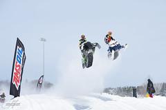 Snowcross - Sudbury, ON (CrumpJ) Tags: ontario canada nikon pipes royal sigma racing double finals oil sudbury fullframe fx skidoo polaris snowcross 600rr csra 70200mm28 d700 nikonfx openmod jacobgervais