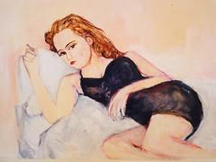 V. Paradis (jennybelin) Tags: paris vanessaparadis frenchvogue boudoirportrait frenchfashionweek