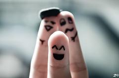 Happy Fingers (Riccardo Brig Casarico) Tags: people colors wow photography photo nikon funny colours foto drink details fingers drawings persone fantasy alcool dettagli fotografia nikkor colori divertenti dita brig 18105 bere riki d5100 brigrc