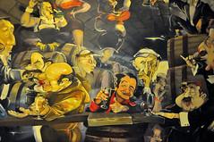 In vino veritas - 3 (jmvnoos in Paris) Tags: paris france café painting nikon wine paintings vin fresco cafés vins wines fresque frescos frescoes d300 invinoveritas fresques jmvnoos