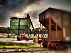 (Charlie MIlton) Tags: tractor mill metal train georgia factory logging equipment machinery hdr csra tonemapping clarkshill sawmil iphoneography