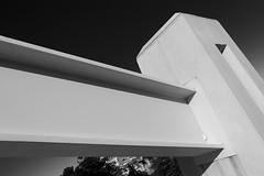 Of Gothic Modernity (Shawn Clover) Tags: sanfrancisco blackandwhite recent foundinsf dubocetriangle gwsf