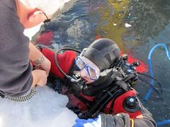(PhilR66) Tags: ice underwater scuba diving scubadiving tignes savoie plonge glace montagnes abyss icediving abyssplonge plongesousglace sousglace