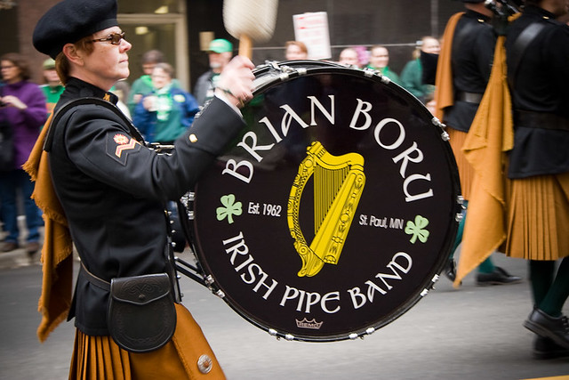Brian Boru Irish Pipe Band Drummer