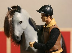 David and Tam (Elrenia_Greenleaf) Tags: horse model ea equestrian julip eaequestrian