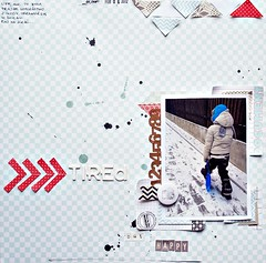 Tired {but happy} (_MonaGee_) Tags: scrapbooking fun kid lo ils