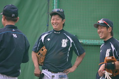 DSC_0027 (mechiko) Tags: 120205 横浜ベイスターズ 渡辺直人 藤田一也 横浜denaベイスターズ 2012春季キャンプ
