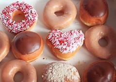I heart Krispy Kreme. (WeeLittlePiggy) Tags: food heart donut doughnut valentines krispy kreme