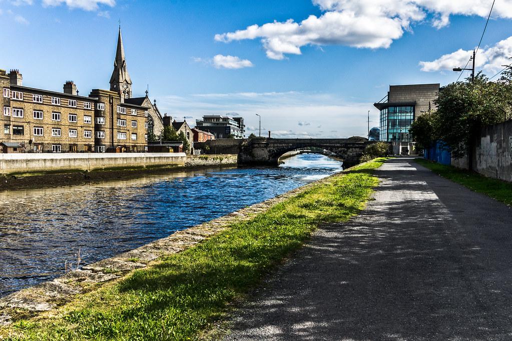 Irishtown - Ringsend Area of Dublin  (South Docks Road)