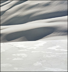 "Snow dunes (Please press ""L"") (Katarina 2353) Tags: travel blue winter light vacation italy white mountain snow film nature beautiful landscape photography nikon flickr shadows view place image dunes paisaje valley paysage courmayeur priroda katarina levels montblanc montebianco valledaosta mountblanc tjkp stefanovic snowdunes pejza katarinastefanovic katarina2353 mygearandme"
