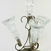 176. Silverplate and Glass Epergne