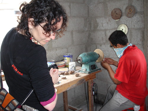 Carole journey to Ecuador for Tagua Beads