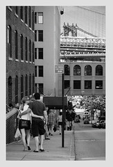 Love... (b i s w a j i t) Tags: street newyork love brooklyn dumbo romance manhattanbridge dayaftervalentinesday
