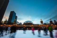 Millennium Ice Rink (Explore) (Eric Hines Photography) Tags: winter chicago timelapse milleniumpark icerink 1635mmf28lii 5dmarkii
