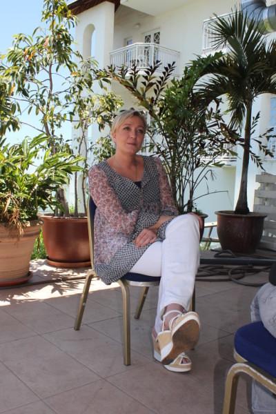 MARINE LE PEN en déplacement à La Réunion