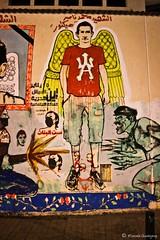 Martyr Mohammed Naser (Mostafa Sheshtawy) Tags: art by graffiti photo egypt revolution mostafa ultras sheshtawy