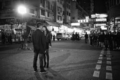 I know I am not your only woman!!! (van*yuen) Tags: leica blackandwhite bw hongkong documentary summicron mongkok m9 tvb citysnap 352 leicam summicron352asph leicam9 march2012