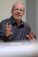 2012 Hugh Ogden Poet Steve Foley at Trinity College (TrinityAdvancement) Tags: college hugh steve trinity poet ogden foley