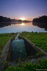 Stream Access (Scholesville) Tags: water sunrise nikon az reservoir lower sg brilliant seletar