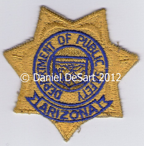 Arizona Department of Public Safety (Badge Variant 3)