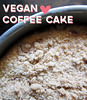 vegan coffee cake (you can count on me) Tags: coffee cake vegan slice easy crumble crumbs sourcherries poppytalk