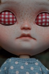 Love her Lippies and her nose :D (Lawdeda ) Tags: red doll child step icy custom headed tiina