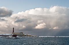 Crazy skies-2 (Larsenio) Tags: ocean winter sea seascape water norway contrast landscape coast norge vinter pentax north arctic coastal nordic polar february contrasts norvege winterlandscape nordisk pentaxk20d arktisk