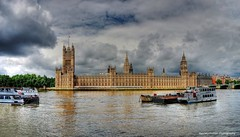 houses of parliament (stitched panorama) (Rex Montalban) Tags: england panorama london europe housesofparliament bigben stitched hdr hss photomatix rexmontalbanphotography pse9 slidersunday
