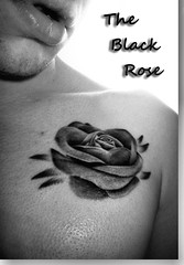 "Black rose Tattoo in ""Black and White"" (CWhatPhotos) Tags: view photographs photograph pic pics photo photos images image foto fotos that have which contain with canon black white tattoo tat tatts ink inked monochrome portrait portrayed flower rose cwhatphotos flickr"