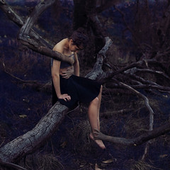 the embrace of caring hands (brookeshaden) Tags: fairytale forest hands woods surrealism embrace childish fineartphotography humanvsnature whimsicalphotography