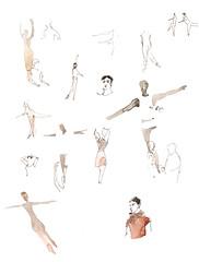 B31 (omar.paint) Tags: ballet sketchbook hannover hanover stillmanbirn