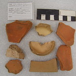 "<b>1981.13PK53.7.5</b><br/> Historic Ceramic; Earthenware Flower Pot Fragments, Terrace Hill<a href=""http://farm8.static.flickr.com/7047/6941410755_125e3248af_o.jpg"" title=""High res"">∝</a>"