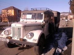 Aro m461 with trailer for sale (gitmo2012) Tags: auto white car europe 4x4 gaz east communist communism 69 transylvania eastern offroader pkw uaz
