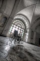 Ospidale C. 6 (daanoe.nl) Tags: urban italy abandoned hospital nikon decay exploring wheelchair hdr decayed urbex ospidale daanoe