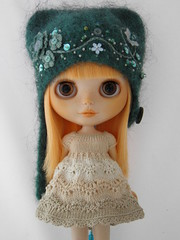 For Bruno (Leshan1) Tags: hat blythe leshan feltedhat blythedress dollcrochet minami626 leshancrochet