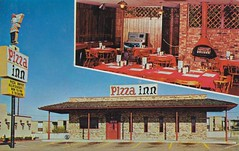 Pizza Inn - Columbus, Ohio (The Pie Shops Collection) Tags: columbus ohio vintage inn postcard pizza coupon
