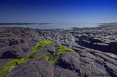 Crasta Green on Blue (Alan Dingwall) Tags: sea england seascape castle beautiful alan landscape photography nikon rocks colours sigma capture combat hitech dingwall crasta d7000 algebott dunstonbough