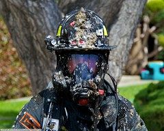 2 Alarm Fire destroys San Jose fourplex (YFD) Tags: california usa canon fire action 911 sanjose firetruck sjfd emergency firefighter ems firedepartment structurefire 2alarm eos7d