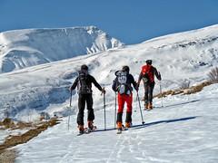 Scialpinismo Laga - Pizzo di Moscio da Ceppo