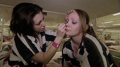 making her friend pretty (Inmate_Stripes) Tags: female women stripes prison jail prisoners inmates