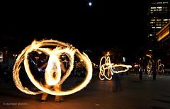 Like a Phoenix (startwithz) Tags: sf sanfrancisco california longexposure up fun fire bay nikon san francisco dancing bright dancer flame poi embarcadero thebay meet sfc firedancer d7000 tokina1116mmf28 fireandfootage
