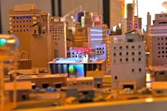 Mini cardboard city at TEDActive (TEDx TampaBay) Tags: highlights tedactive