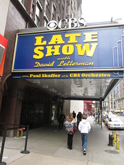 New York City (Dougtone) Tags: nyc newyorkcity newyork building skyline manhattan cbs lateshowwithdavidletterman edsullivantheater 031812