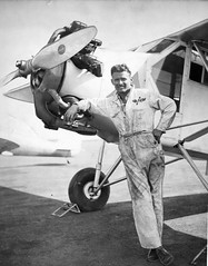 Douglas Corrigan (San Diego Air & Space Museum Archives) Tags: airplane aircraft aviation aviator curtiss corrigan wrongwaycorrigan douglascorrigan curtissrobin douglaswrongwaycorrigan dougcorrigan