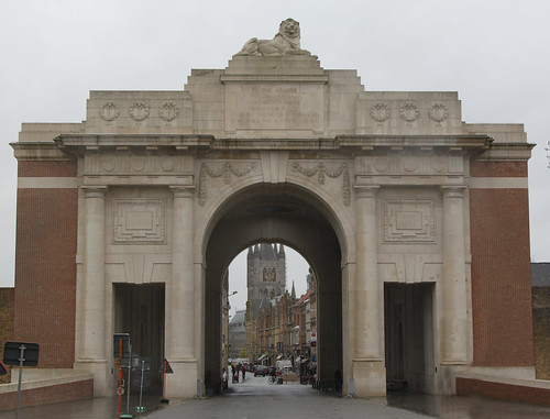 Ypres Menin Gate - ANZAC Day 25 April 2012 - 21